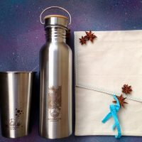 Eco kit for zero-waste travellers